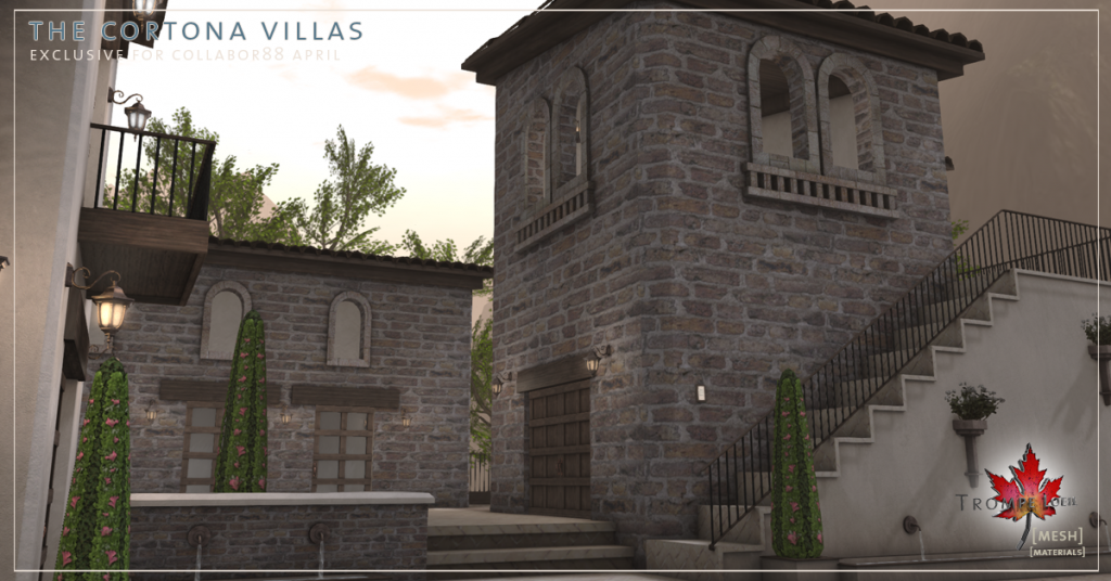 Trompe Loeil - The Cortona Villas promo 02