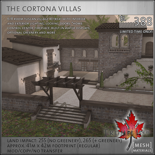 cortonas villas sales L388