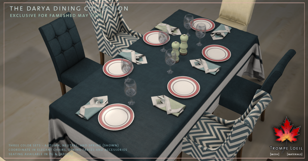 Darya Dining Collection promo 1