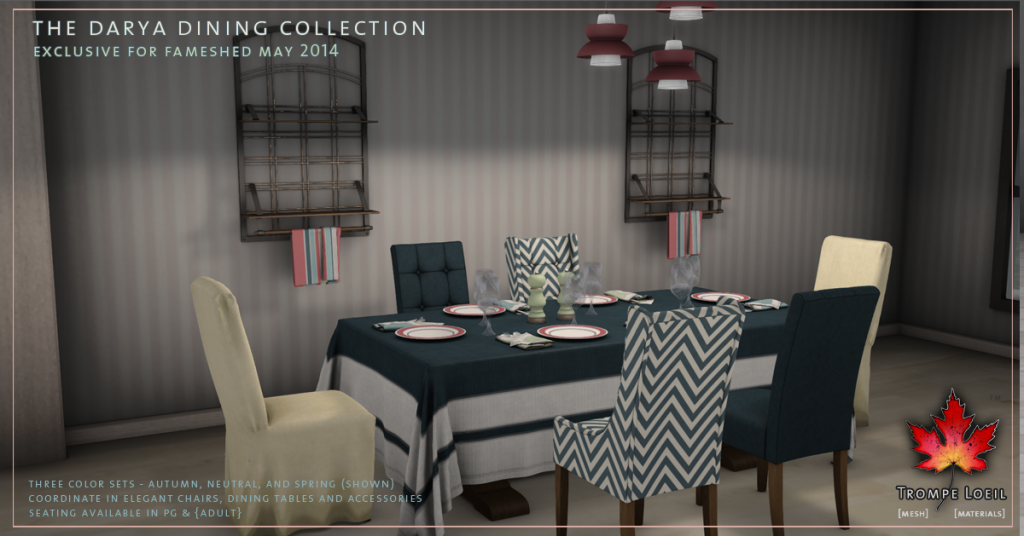 Darya Dining Collection promo 2