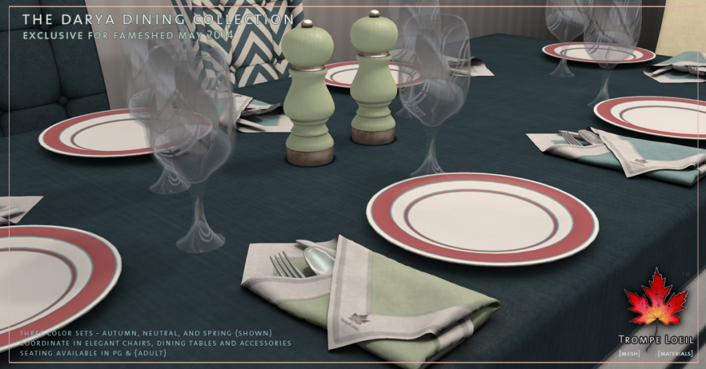 Darya Dining Collection promo 3