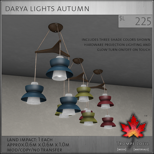 Darya Light Autumn L225