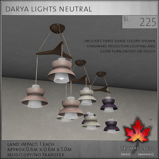 Darya Light Neutral L225