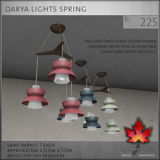 Darya Light Spring L225