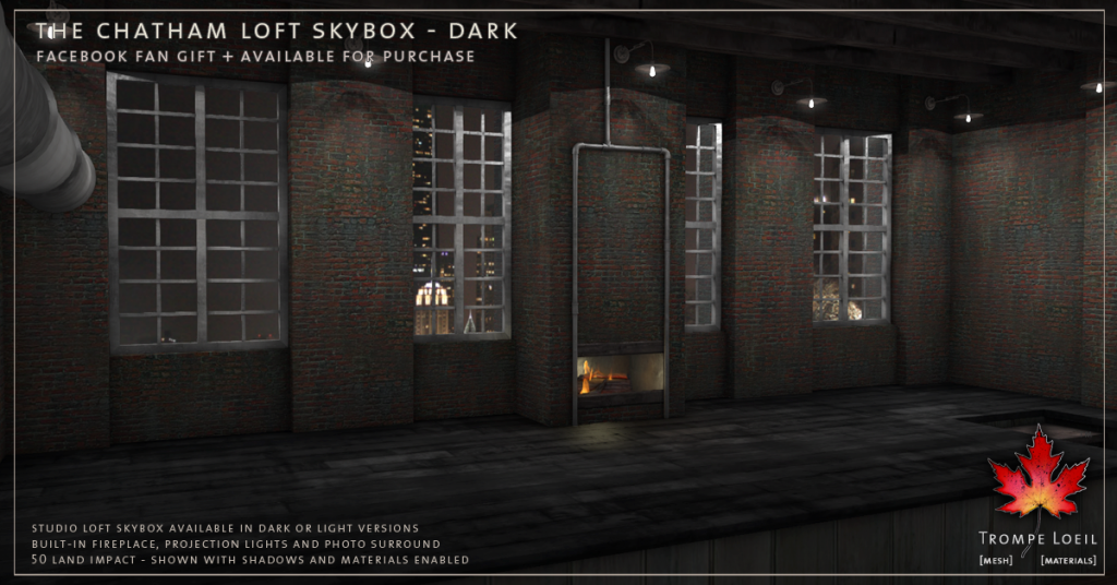 Trompe Loeil - The Chatham Loft Skybox Dark promo 4