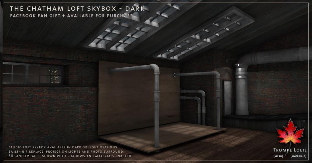 Trompe Loeil - The Chatham Loft Skybox Dark promo 5