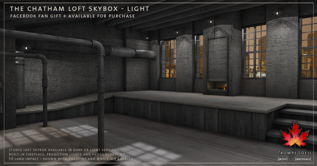 Trompe Loeil - The Chatham Loft Skybox Light promo 1