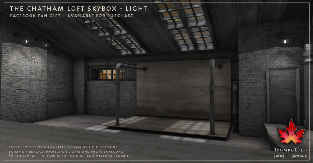 Trompe Loeil - The Chatham Loft Skybox Light promo 2