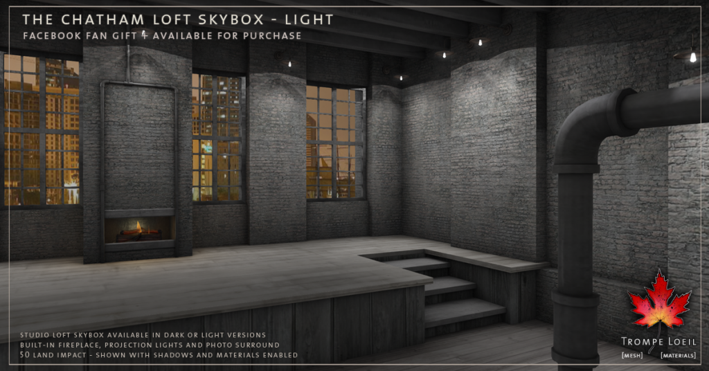 Trompe Loeil - The Chatham Loft Skybox Light promo 3