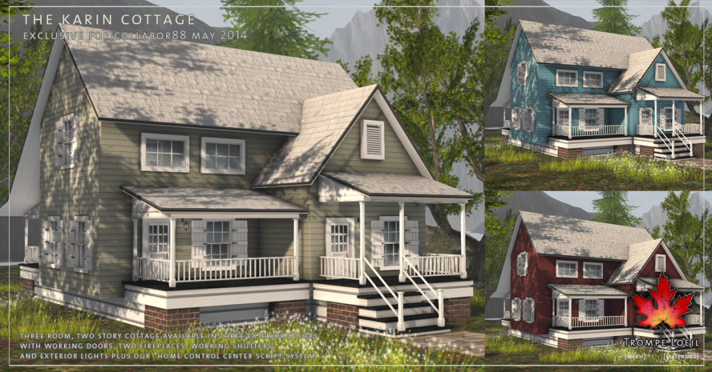 Trompe Loeil - The Karin Cottage promo 01