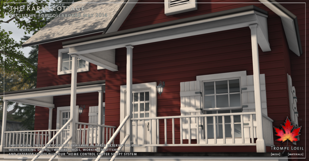 Trompe Loeil - The Karin Cottage promo 02