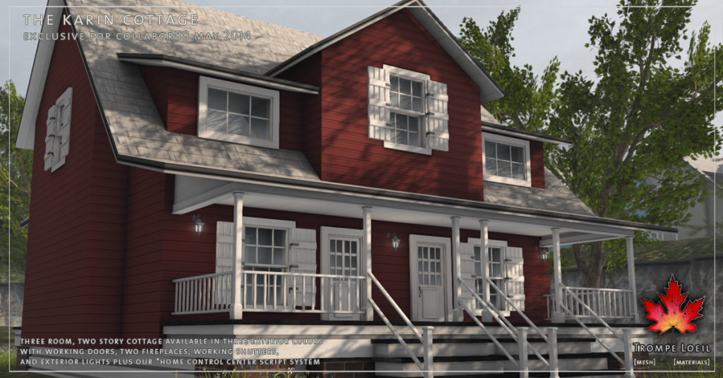 Trompe Loeil - The Karin Cottage promo 04