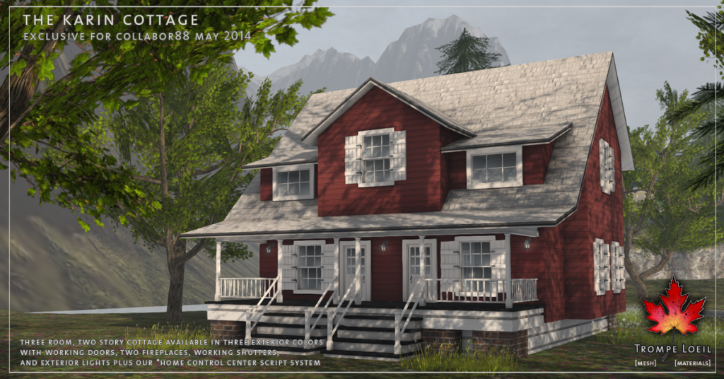 Trompe Loeil - The Karin Cottage promo 05