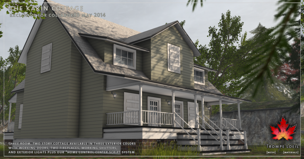 Trompe Loeil - The Karin Cottage promo 06