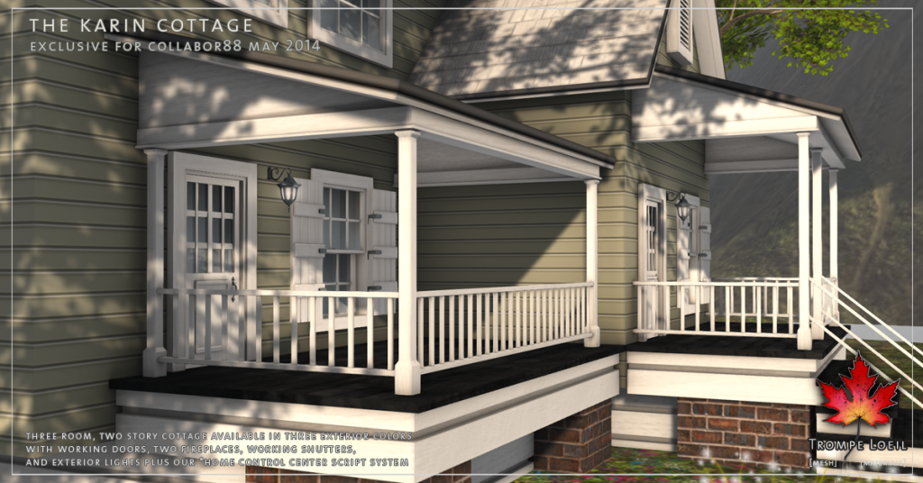 Trompe Loeil - The Karin Cottage promo 10