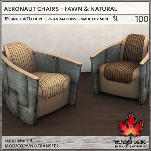 aeronaut fawn PG L100