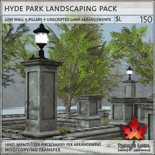 Hyde Park Landscaping Pack 150