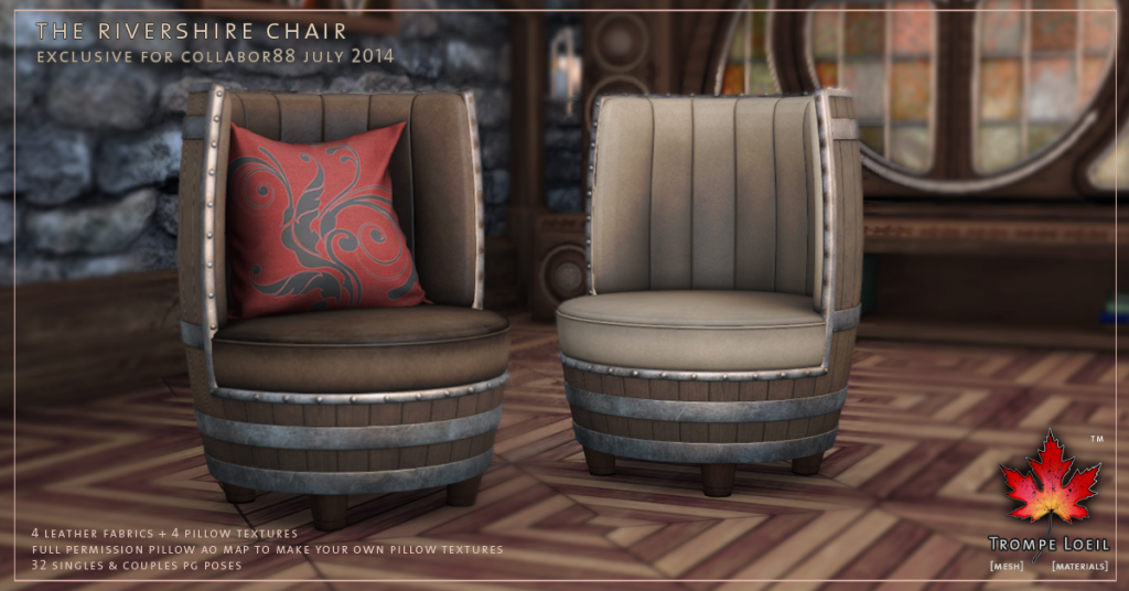 Trompe Loeil - Rivershire Chair promo