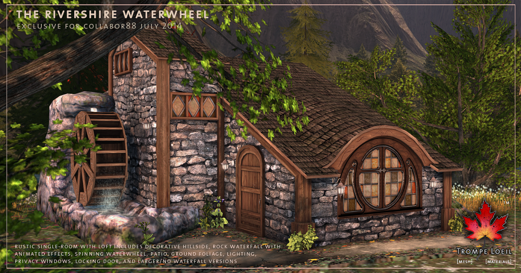 Trompe Loeil - Rivershire Waterwheel promo 01