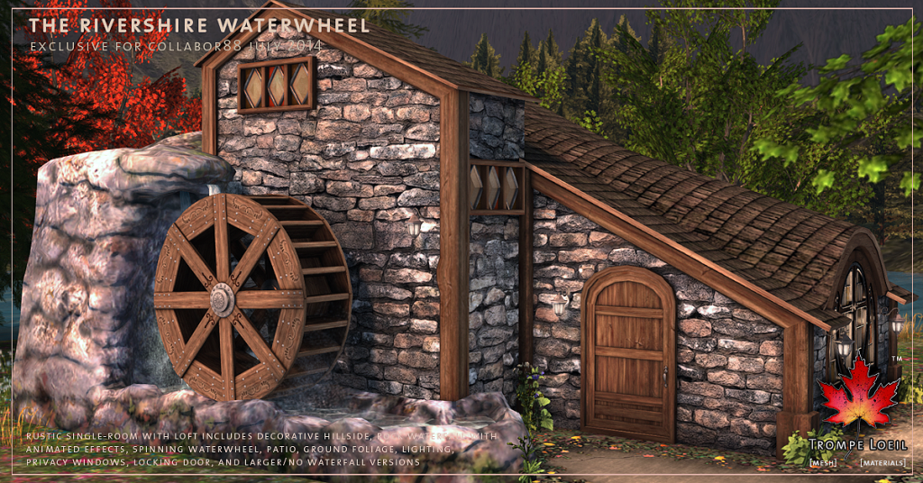 Trompe Loeil - Rivershire Waterwheel promo 02