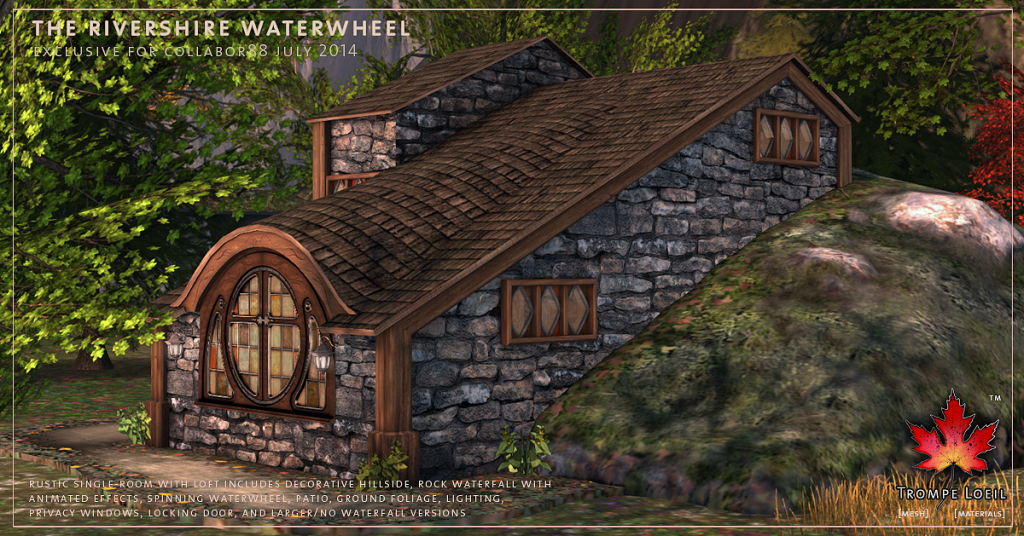 Trompe Loeil - Rivershire Waterwheel promo 03