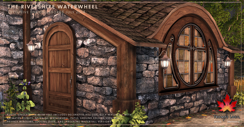 Trompe Loeil - Rivershire Waterwheel promo 04