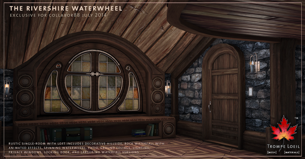 Trompe Loeil - Rivershire Waterwheel promo 05