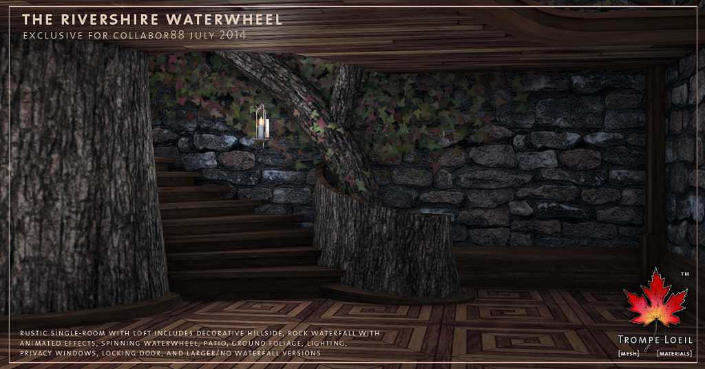 Trompe Loeil - Rivershire Waterwheel promo 06