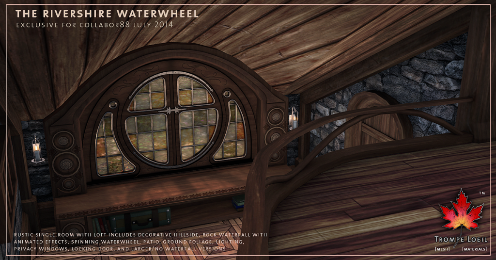 Trompe Loeil - Rivershire Waterwheel promo 07