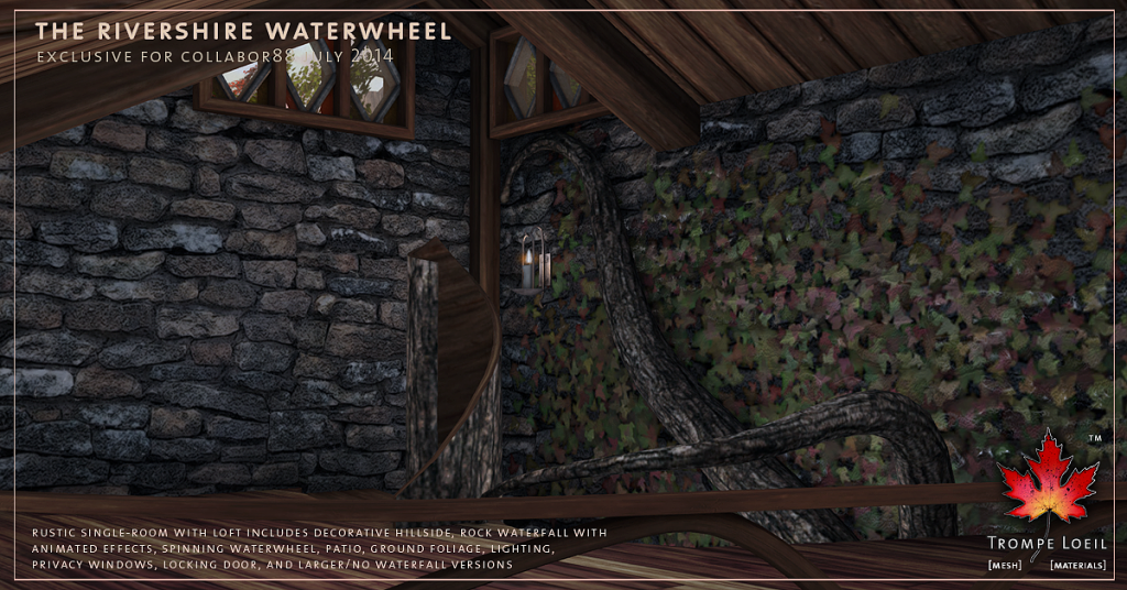 Trompe Loeil - Rivershire Waterwheel promo 08