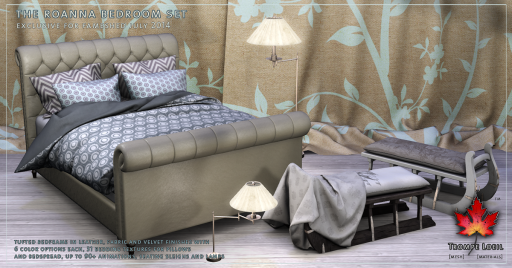 Trompe Loeil - Roanna Bedroom Set promo 1