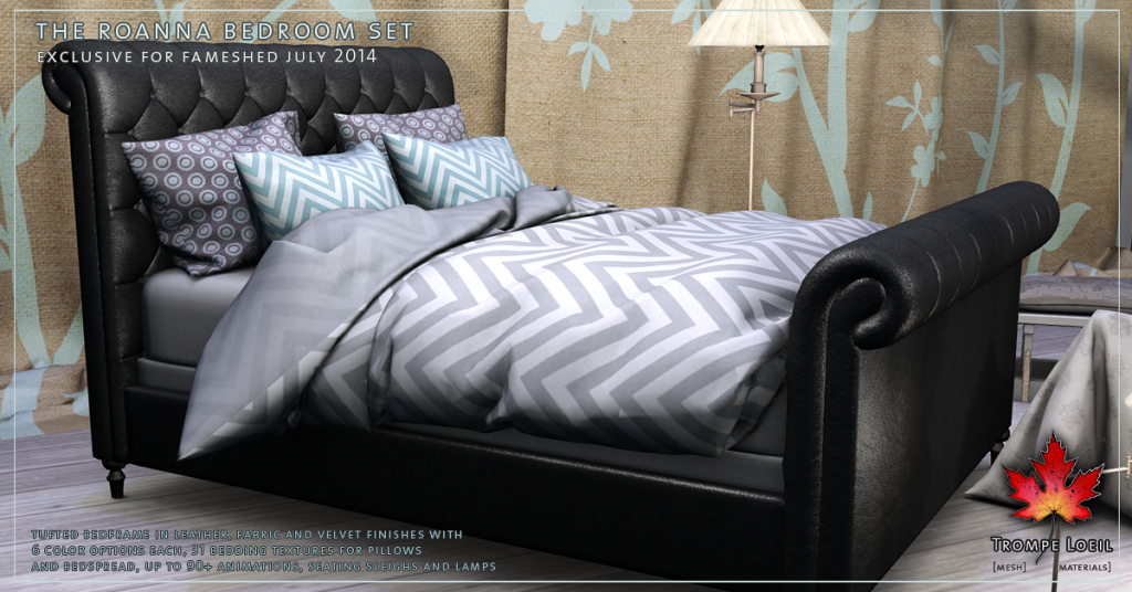 Trompe Loeil - Roanna Bedroom Set promo 2