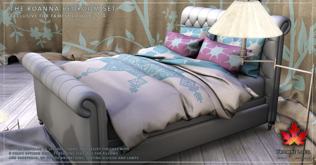 Trompe Loeil - Roanna Bedroom Set promo 3