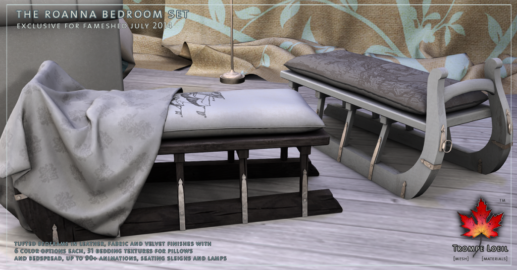 Trompe Loeil - Roanna Bedroom Set promo 4