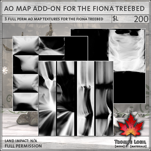 Fiona Treebed AO Map Add-On L200