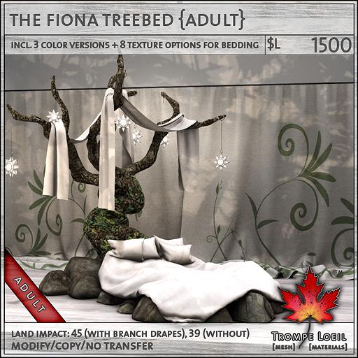 Fiona Treebed Adult L1500