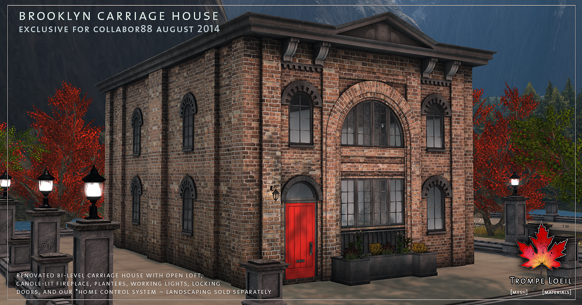 Brooklyn Carriage House for Collabor88 August