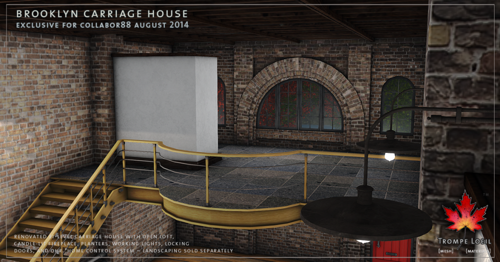 Trompe Loeil - Brooklyn Carriage House promo 06