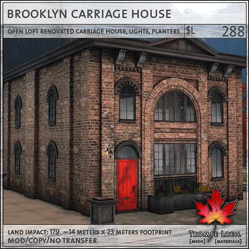Trompe Loeil - Brooklyn Carriage House sales L288