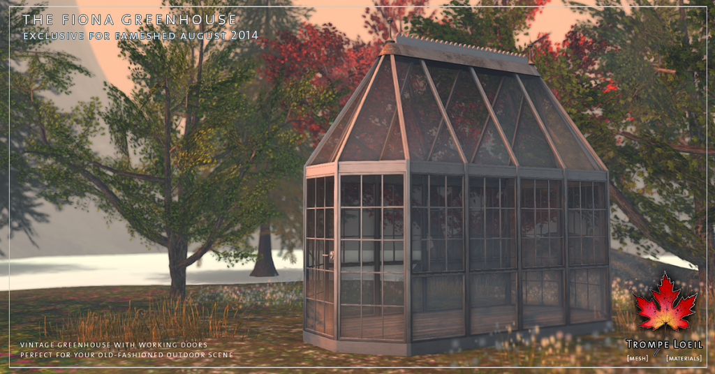 Trompe Loeil - The Fiona Greenhouse promo