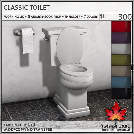 Classic Toilet L300