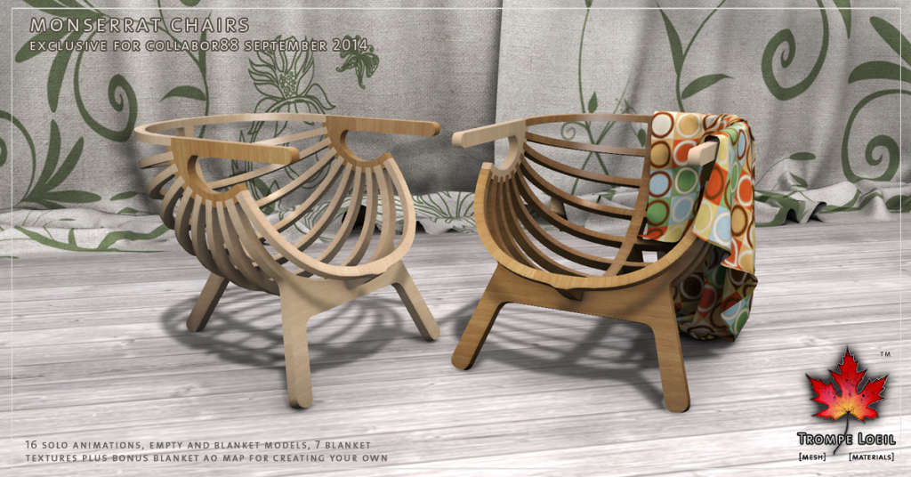 Trompe Loeil - Monserrat Chairs promo