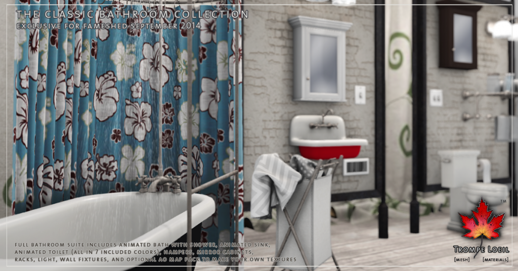 Trompe Loeil - The Classic Bathroom promo 01