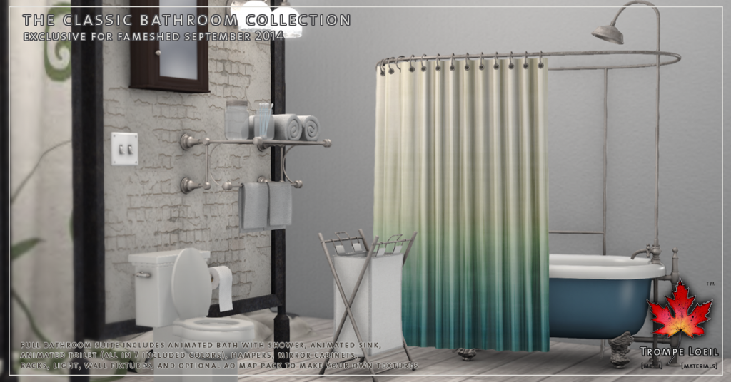 Trompe Loeil - The Classic Bathroom promo 02