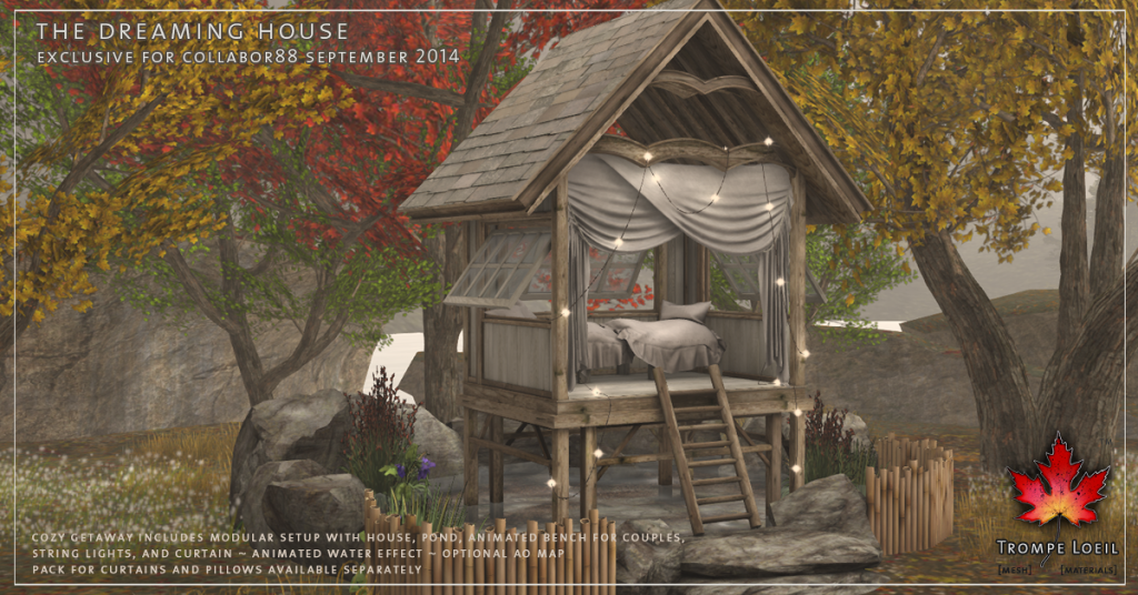 Trompe Loeil - The Dreaming House promo 01