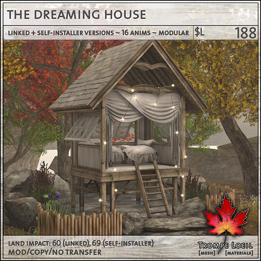 the dreaming house L188