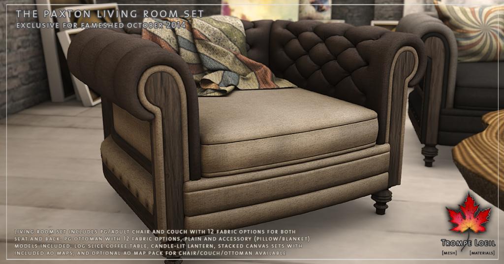 Trompe Loeil - Paxton Living Room Set Promo 02