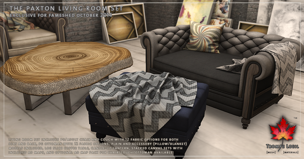Trompe Loeil - Paxton Living Room Set Promo 03