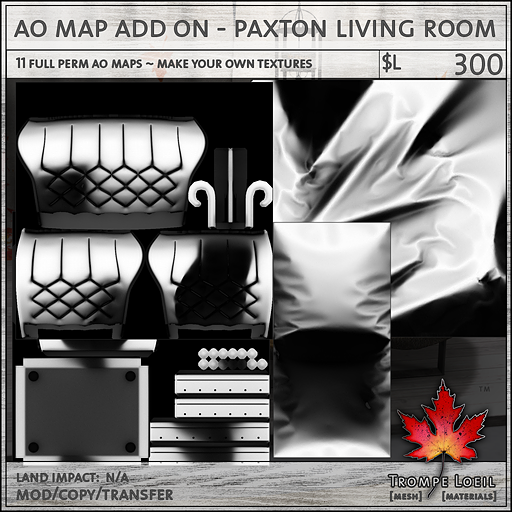 ao map add on paxton living room