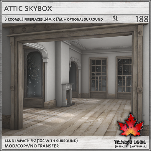 attic skybox L188